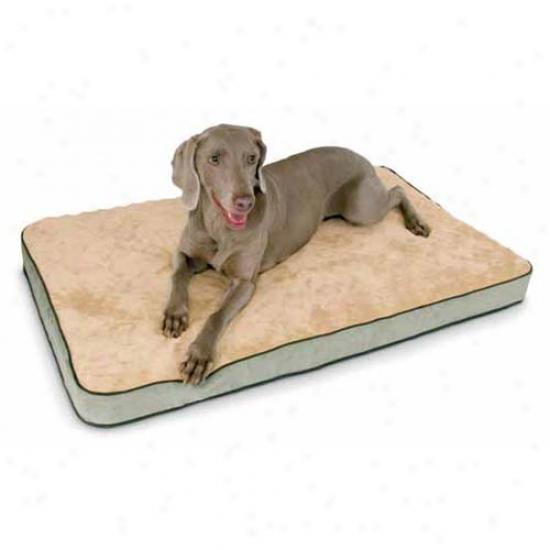 Memory Sleeper Foam Pet Bed Large Mocha