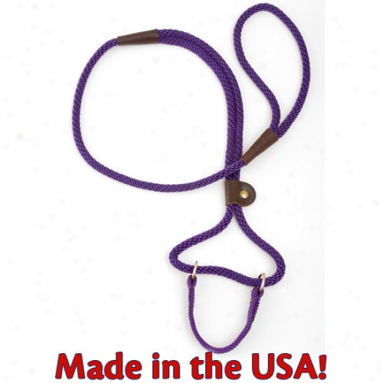 Mendota Martingale Style Lead .5in X 6ft Purple Confetti