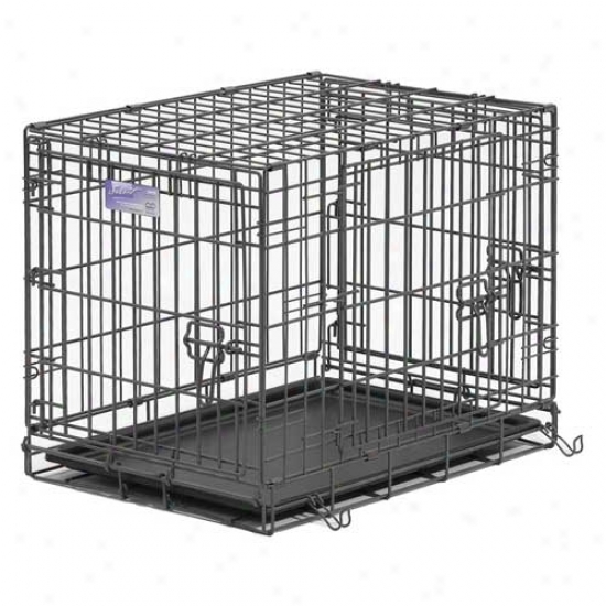 Midwest Select Threefold Door Dog Crate 24 Inch