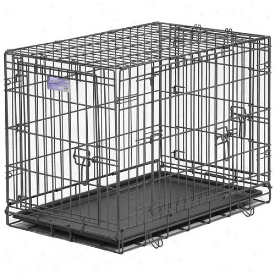 Midwest Select Triple Door Dog Crate 30 Inch