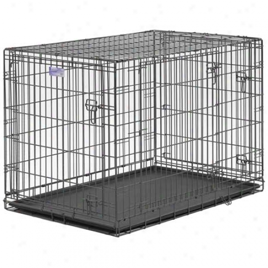 Midwest Select Triple Door Dog Crate 42 Inch