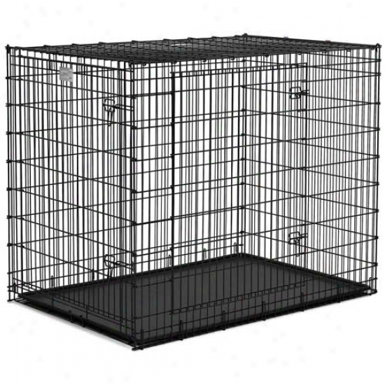 Midwest Solutions Heavy Duty Double Door Crate  54 Inches