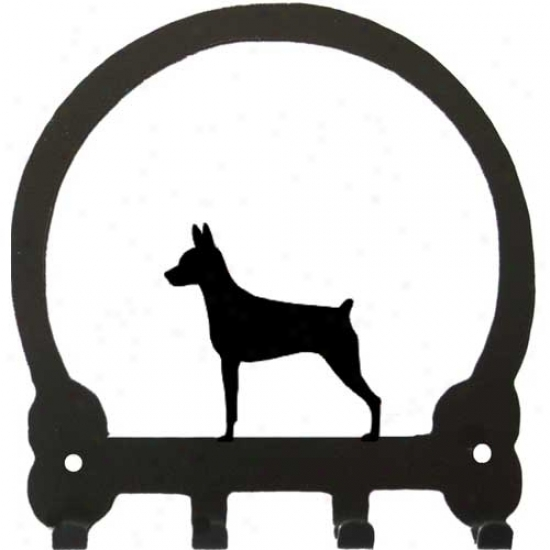 Miniature Pinscher Key Rack By Sweeney Ridge