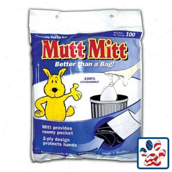 Mutt Mitt Degradable Pick-up Bags (100-pack)