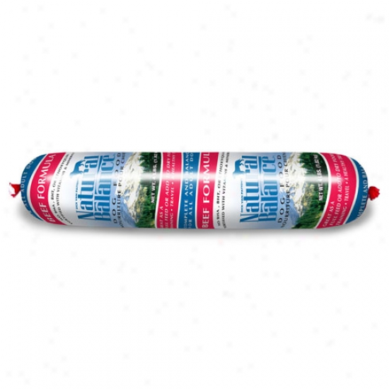 Natural Balance Beef And Rice Roll, 4lb