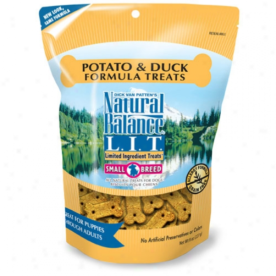 Natural Balance Duck And Potato Small Discipline Dog Entertainment 8oz