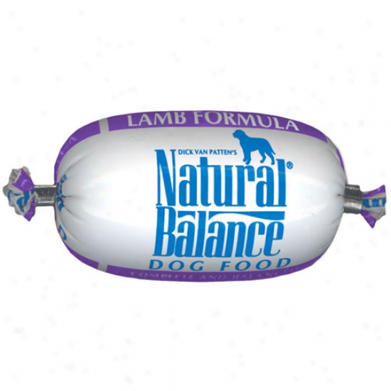 Natural Balance Lamb And Rice Roll, 2.75oz Trial Size