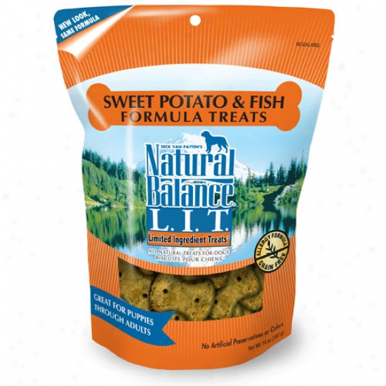 Natural Balance Sweet Potato And Fish Allergy Formula Treats 14oz
