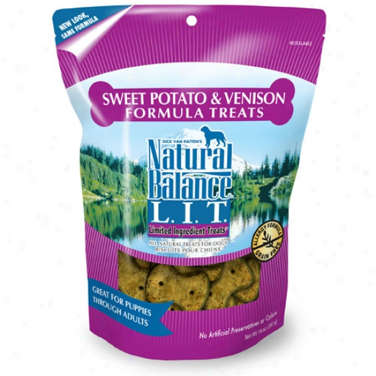 Natural Balance Sewet Potato And Venison Treats 14oz