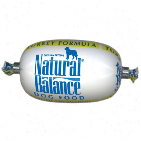 Natural Balance Turkey And Rice Roll, 2.75oz Test Size