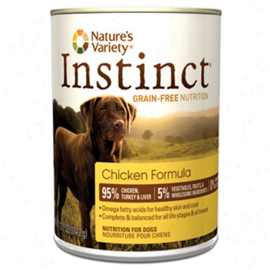Natures Variety Instinct Chicken And Turkey 13.2oz Canned Assembly Case