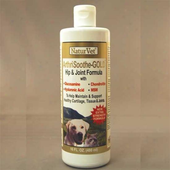 Naturvet Arthrisoothe Gold Liquid 16oz