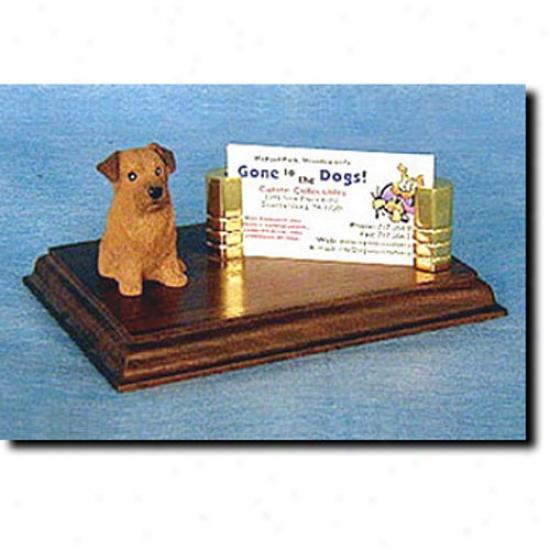Norfolk Terrier Business Card Holder