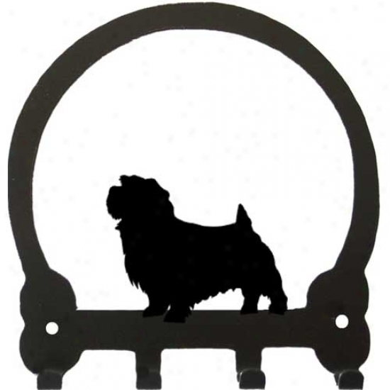 Norfolk Terrier Key Rack By Sweeney Ridge