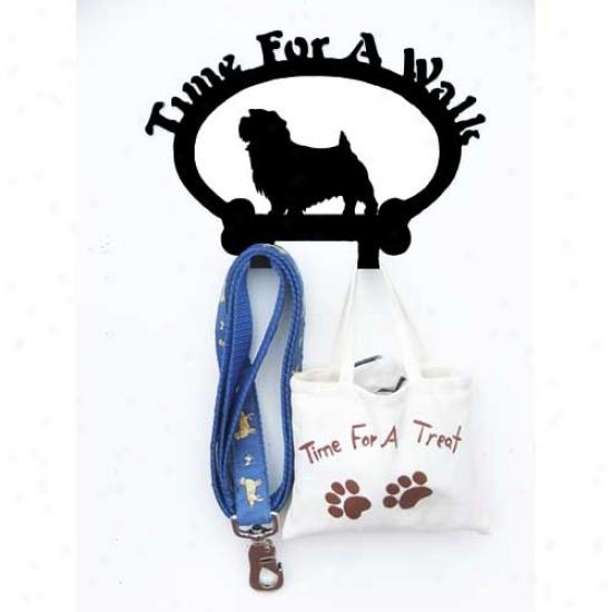 Norfolk Terrier Leash Holder