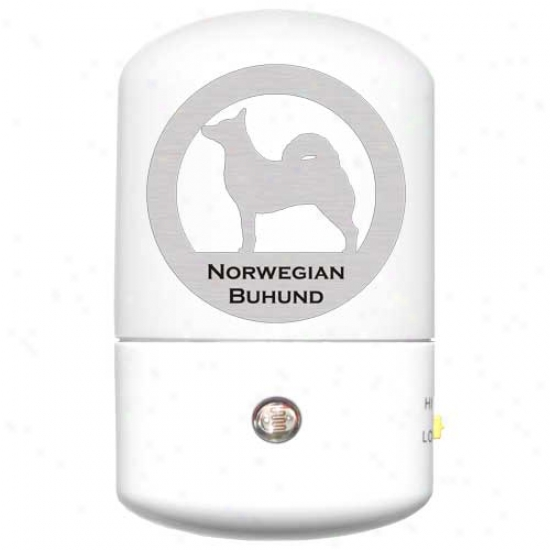 Norweguan Buhund Led Night Light