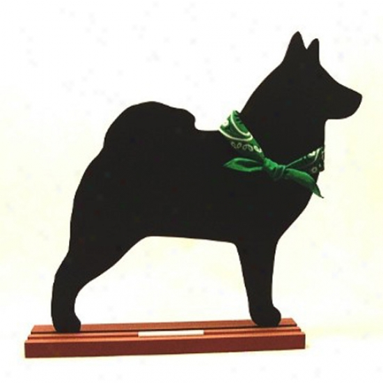 Norwegian Elkhound Blackboard - Wall Model