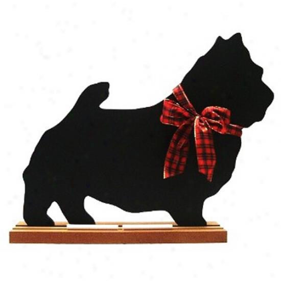 Norwich Terrier Blackboard - Wall Pattern