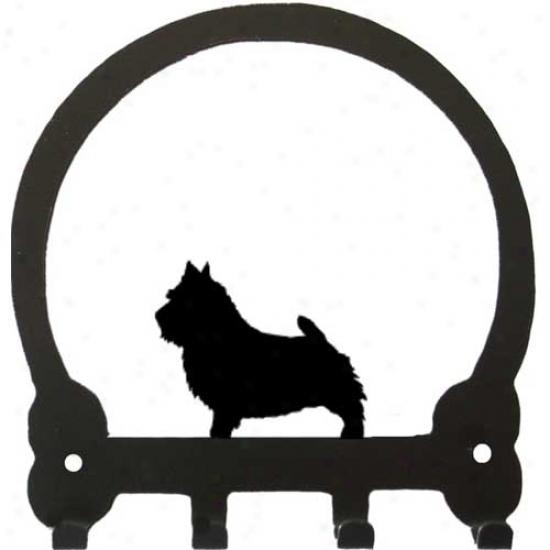 Norwich Terrier Key Rack By Sweeney Ridge