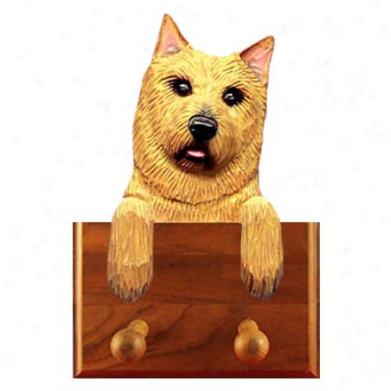 Norwich Terrier Leash Holder