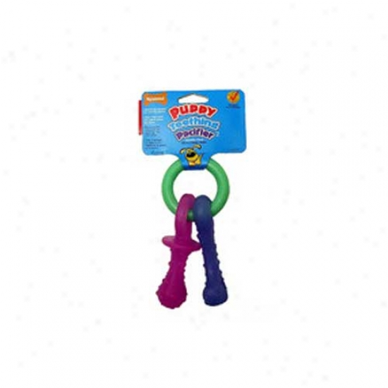 Nylabone Fop Teething Pacifier Chew Toy