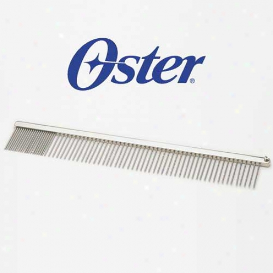Oster Professional Pet Grooming Comb 10 In Finishing