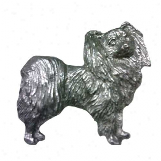 Papillon Pewter Pin