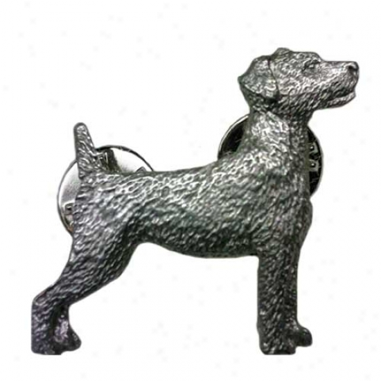 Parson Russell Terrier Pewter Pin