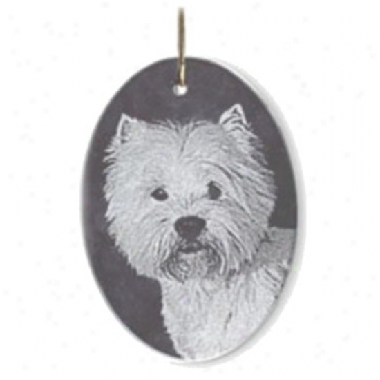 Personalized Laser Etched Pet Ornament