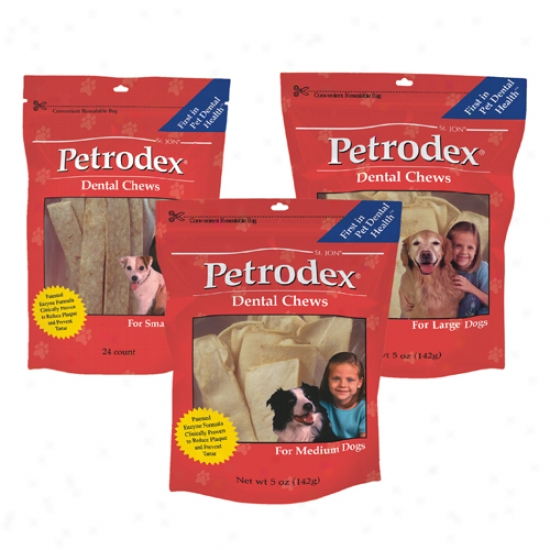 Petrodex Dentwl Chews Because of Large Dogs (5 Oz)