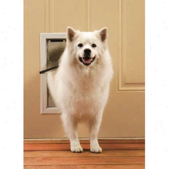 Petsafe Freedom Aluminum Pet Door Medium