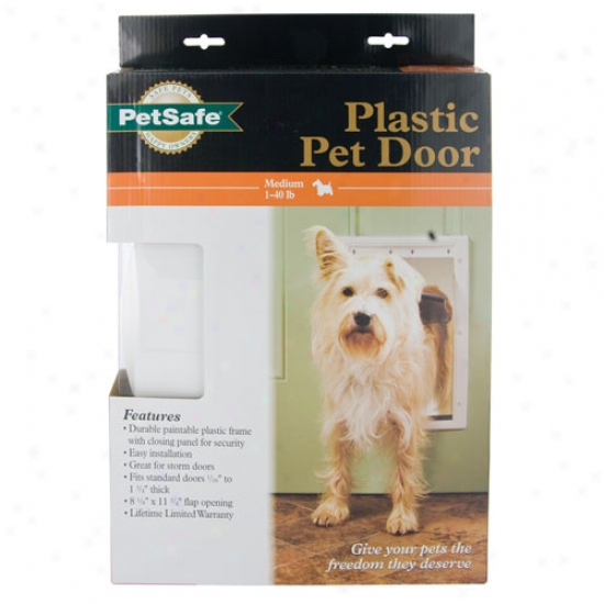Petsafe Plastic Pet Passage Medium