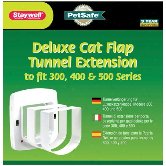 Petsafe Staywell Tunnel Extension For Petsafe 300,400,500 Series Pet Door Wht