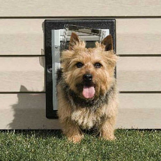Petsafe Wall Entry Aluminum Pet Door Small