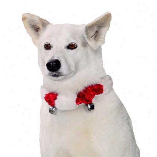 Plush Puppies Festival Bell Collar Medium
