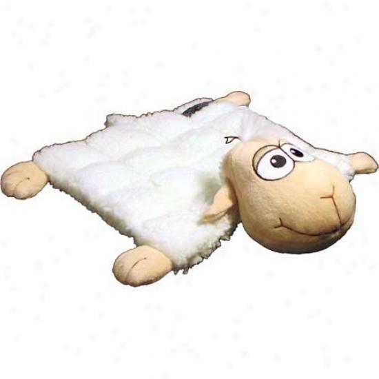 Plush Puppies Sheep Squeaker Mat Little