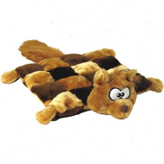 Plush Puppies Squirrel Squeaker Mat Large