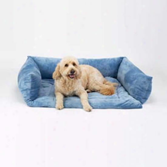 Plush Sleep-ezz Sofa Bed Small Coco Brown