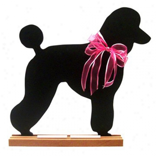 Poodle Blackboard - Wall Model