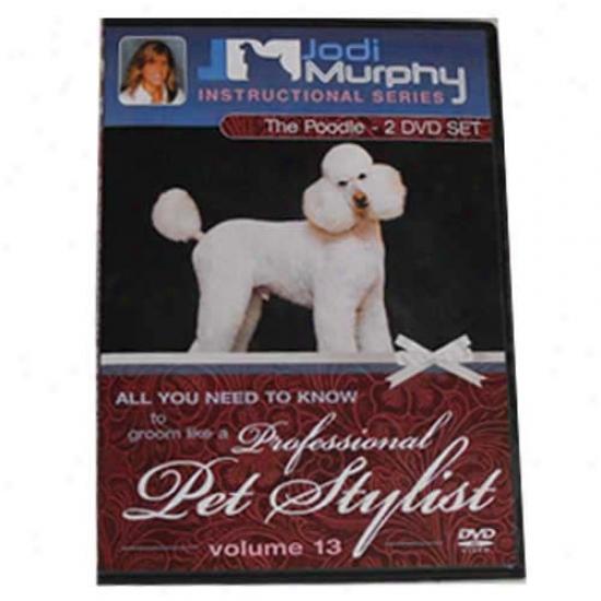 Poodle Grooming Dvd By Jodi Murphy