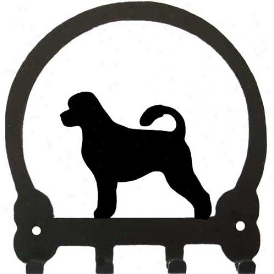 Portuguese Water Dog Key Rack Along Sweeney Ridge