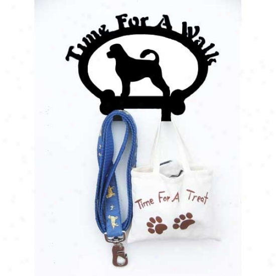 Portuguese Water Dog Leash Holder