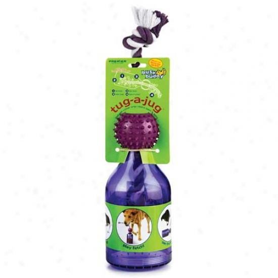 Premier Busy Buddy Tug A Jug Treat Dispensing Dog Toy Shallow