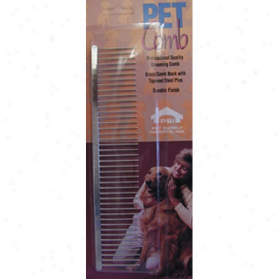 Psi Coarse Thin Back English Comb 7inch 3347c
