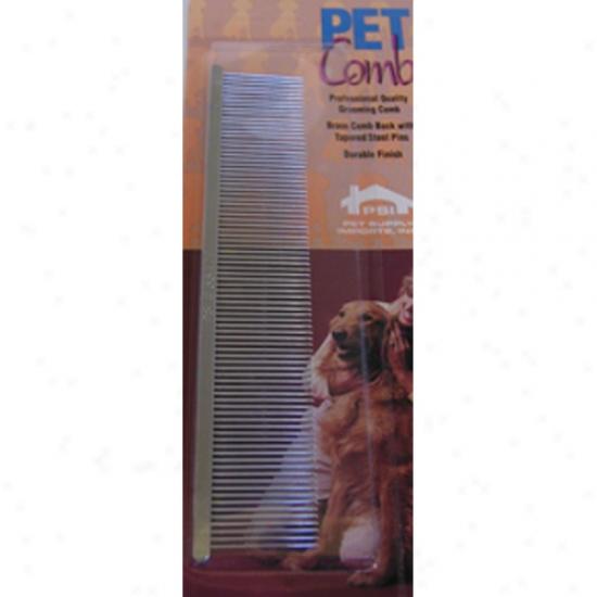 Psi Medium Thin Back English Comb 7 Inch (3347m)