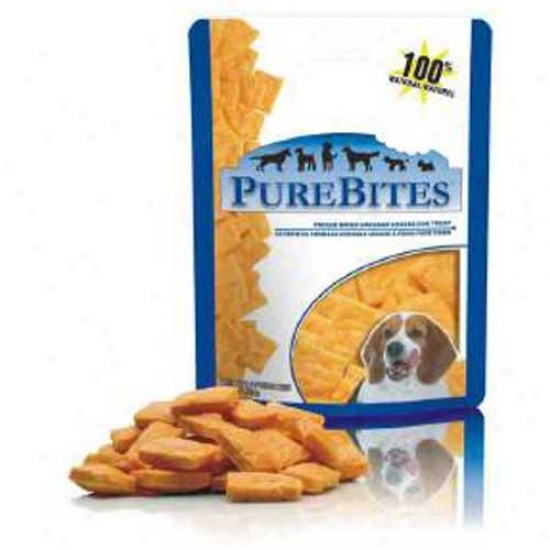 Purebites Cheddar Cheese Dog Treats 4.2 Ounces