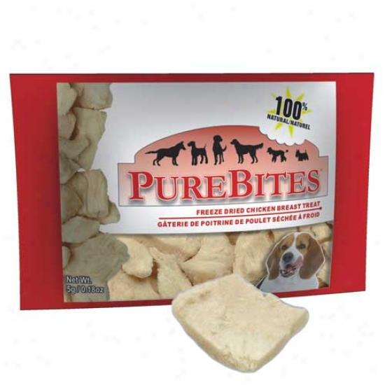 Purebites Chicken Breast - .18 Ounce Bag