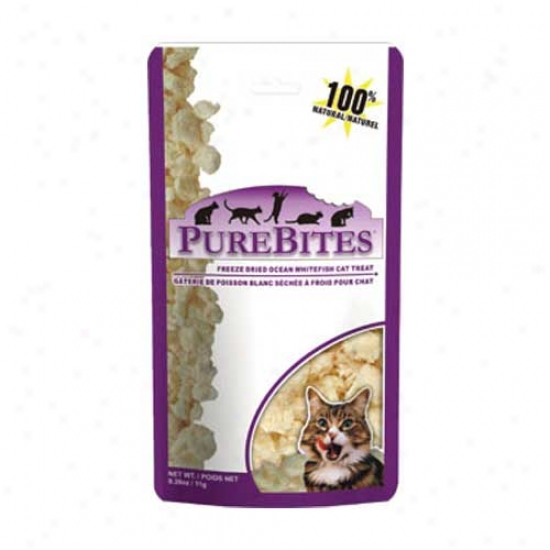 Purebites For Cats Ocean Whitefish .39oz