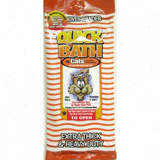 Quick Bath Cats, 10-pack