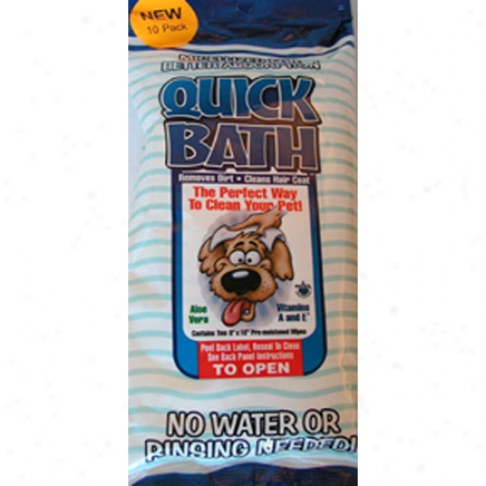 QuickB ath Dogs, 10-pack